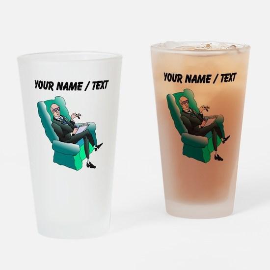 Psychologist (Custom) Drinking Glass