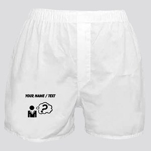 Custom Confused Boxer Shorts
