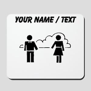 Custom Man And Woman Mousepad