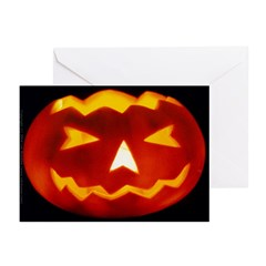 Jack-O-Lantern Greeting Cards (Pk of 10)