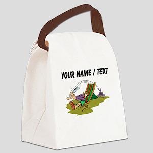Paperboy (Custom) Canvas Lunch Bag