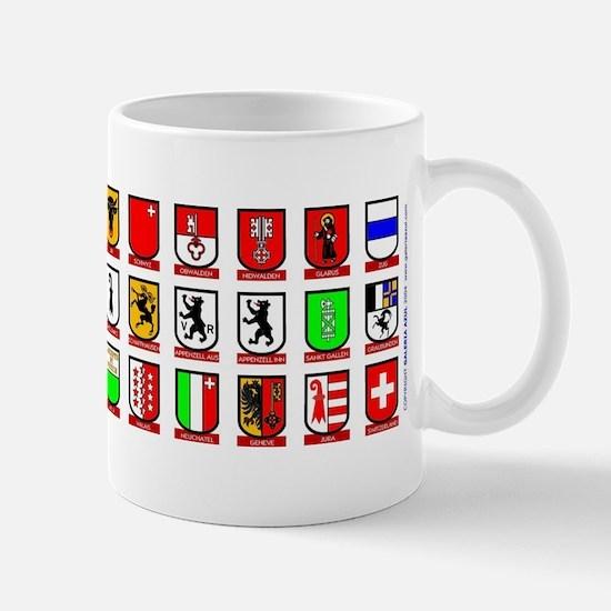 Switzerland: Heraldic Mug of the Cantons