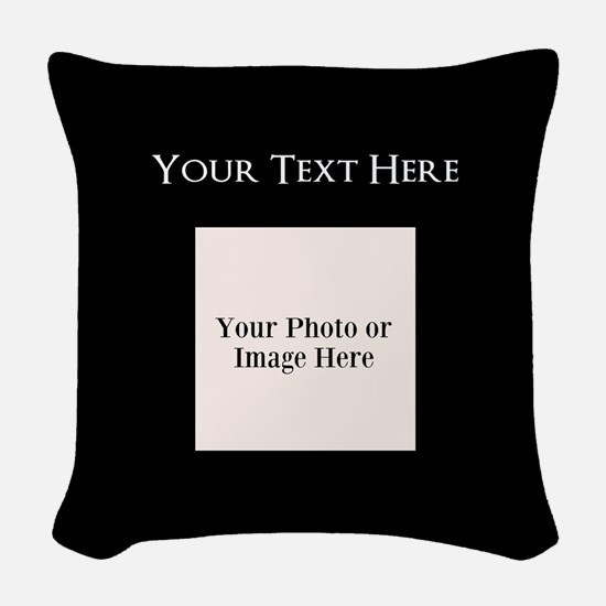 great Woven Throw Pillow