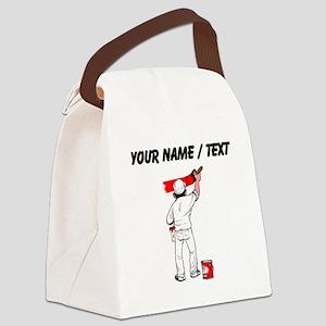 Painter (Custom) Canvas Lunch Bag