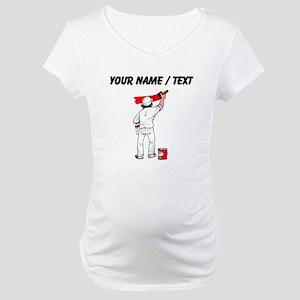 Painter (Custom) Maternity T-Shirt