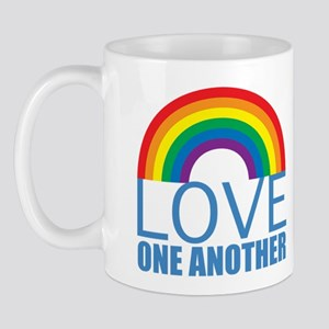 Rainbow Love Mug Mugs
