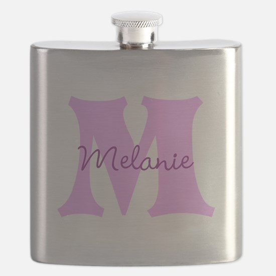 CUSTOM First Initial and Name Flask