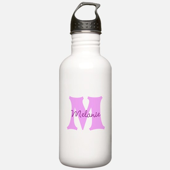 CUSTOM First Initial and Name Water Bottle
