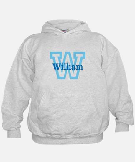 CUSTOM First Initial and Name Hoodie