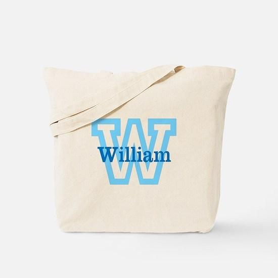 CUSTOM First Initial and Name Tote Bag