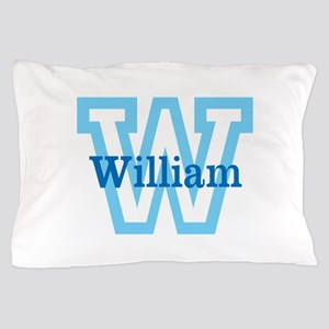 CUSTOM First Initial and Name Pillow Case
