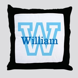 CUSTOM First Initial and Name Throw Pillow