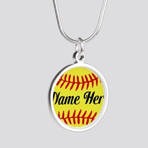 Personalized Softball Necklaces