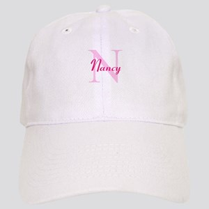 CUSTOM Initial and Name Pink Cap