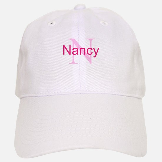 CUSTOM Initial and Name Pink Baseball Baseball Cap
