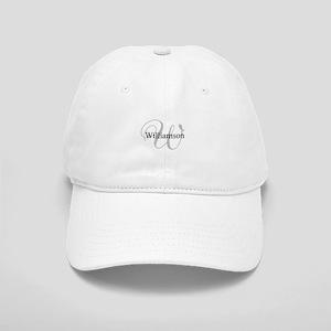 CUSTOM Initial and Name Gray/Black Cap