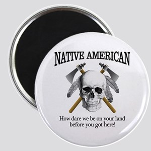 Native American (skull) Magnets