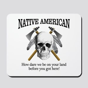 Native American (skull) Mousepad