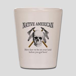 Native American (skull) Shot Glass