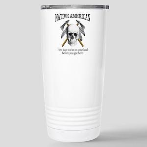 Native American (skull) Travel Mug