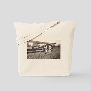 Early Biplane Tote Bag