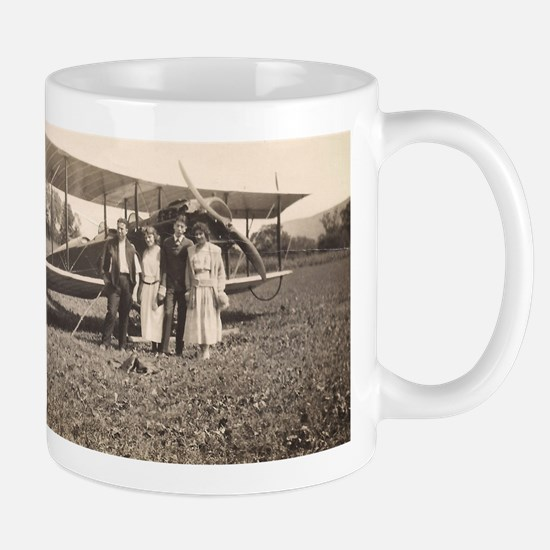 Early Biplane Mugs