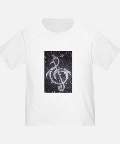 Abstract Treble Clef T-Shirt