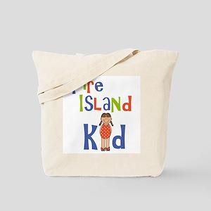Fire Island Kid Girls Tote Bag