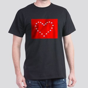 Red Jojo's Heart Valentine 581 T-Shirt