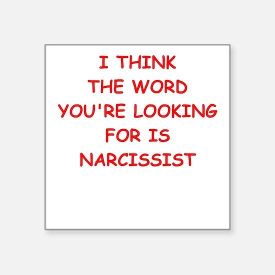 narcissist Sticker