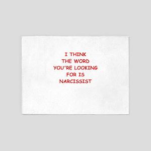 narcissist 5'x7'Area Rug