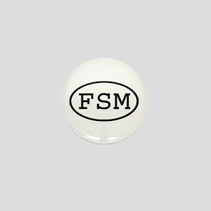 FSM Oval Mini Button