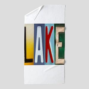 Lake Beach Towel