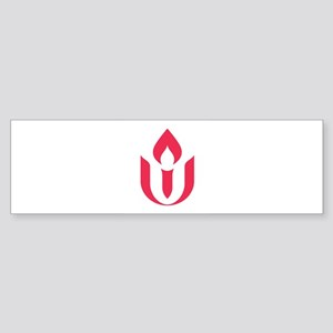 UU red flame logo Bumper Sticker