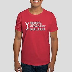 STEROIDS IN GOLF Dark T-Shirt