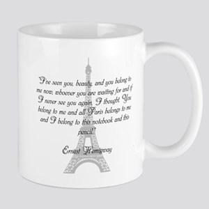 Paris Belongs to Me Mugs