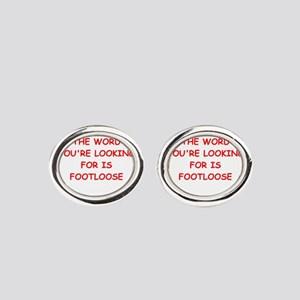 footloose Oval Cufflinks