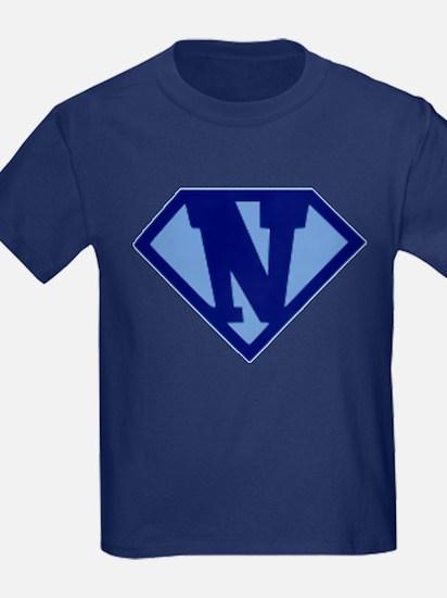 Super Hero Letter N T-Shirt