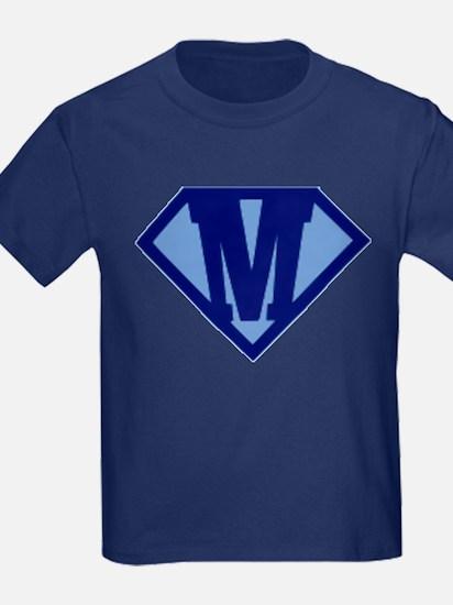 Super Hero Letter M T-Shirt