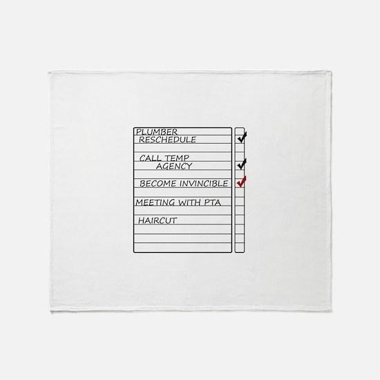 INVINCIBLEGOOD1.jpg Throw Blanket