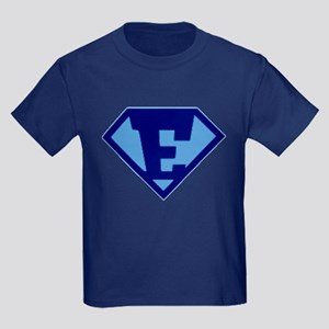 Super Hero Letter E T-Shirt