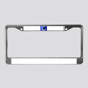 Snowmobiling in the Avalanche License Plate Frame