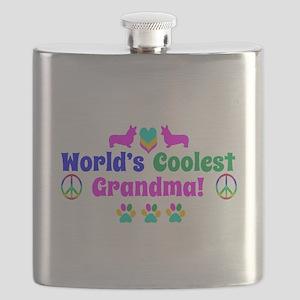 World's Coolest Grandma Flask