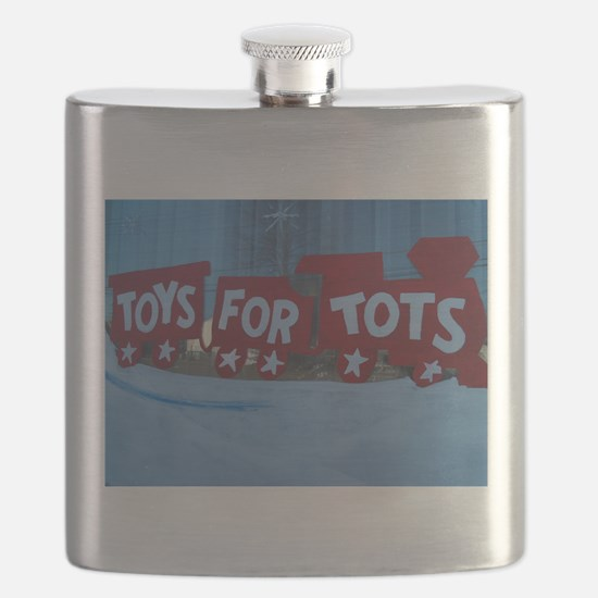 Toys For Tots Train. Flask