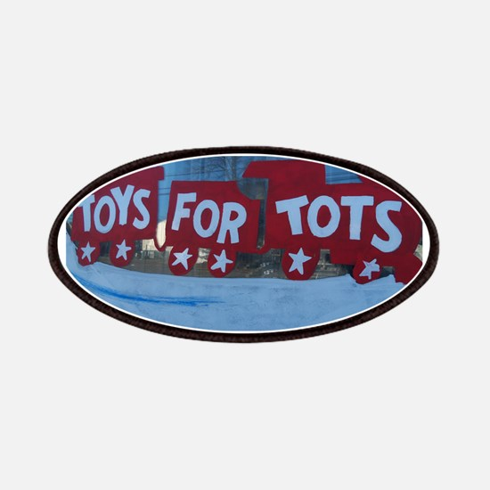 Toys For Tots Train. Patches