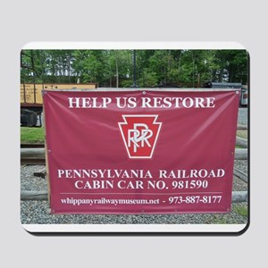 Help Us Restore Whippany RW Museum. Mousepad