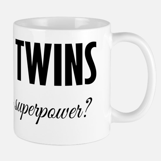 I Grow Twins - What's your superpower? Mug
