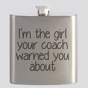 I'm the girl your coach warned you about Flask