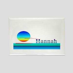 Hannah Rectangle Magnet