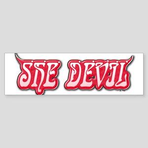 She Devil (W) Bumper Sticker